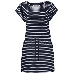 Jack Wolfskin Travel Striped Dress Women midnightblue stripes